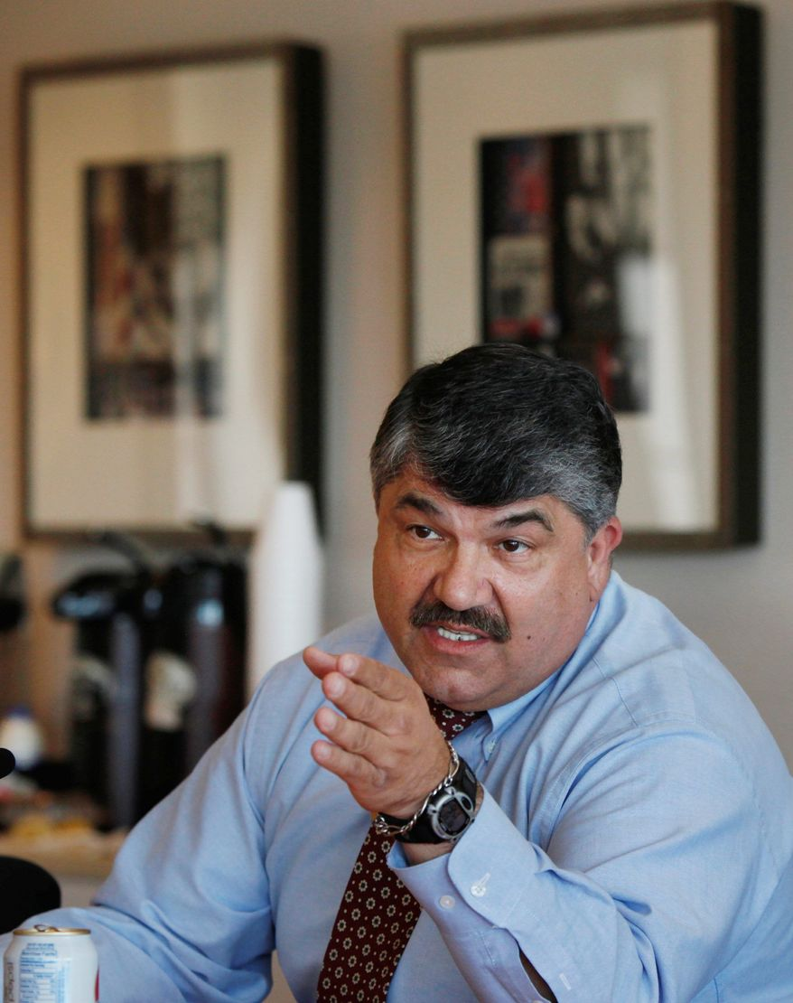 ** FILE ** Richard L. Trumka, president of the American Federation of Labor and Congress of Industrial Organizations(Associated Press)
