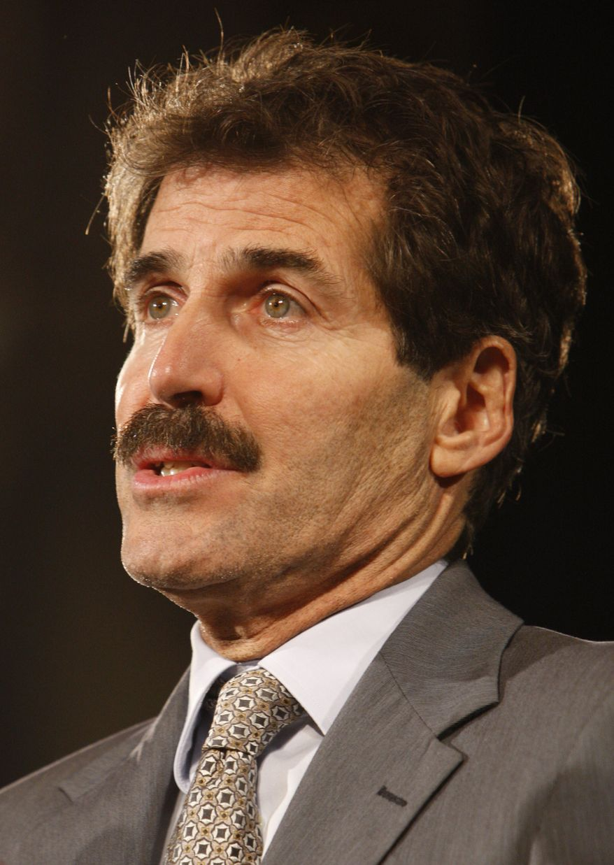 **FILE** In this Oct. 5, 2007, file photo, ABC News correspondent John Stossel addresses the Americans for Prosperity Foundation in Washington. ABC anchor John Stossel, a libertarian whose work earned him fiercely loyal fans at the same time he caused headaches for the network, is jumping to Fox. (Associated Press)