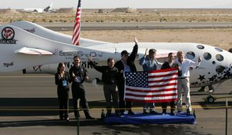 associated press It has been five years since SpaceShipOne, the first privately financed manned spacecraft, captured the $10 million Ansari X Prize after its successful 2004 flight into space and landing at Mojave, Calif. The sequel to the story has yet to take flight.