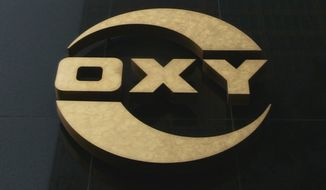 Occidental Petroleum Corp. logo (Associated Press)