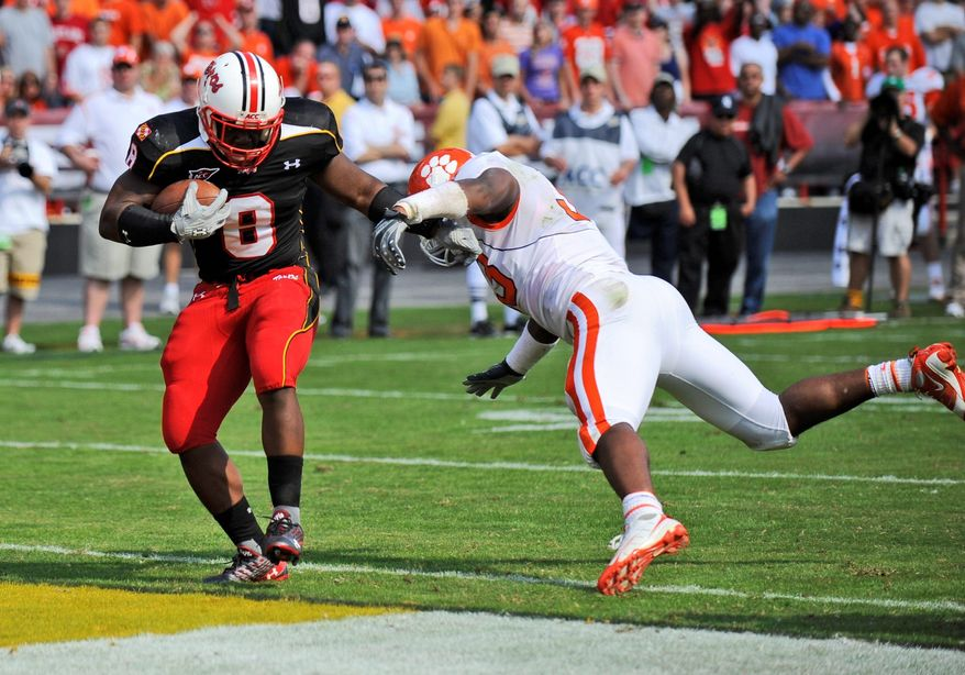 Davin Meggett has racked up 134 rushing yards and two touchdowns on 44 carries this season. (Associated Press)