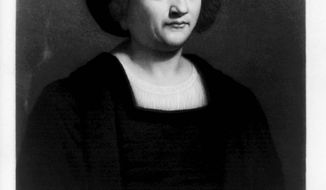 Christopher Columbus (Photo courtesy of the Library of Congress)