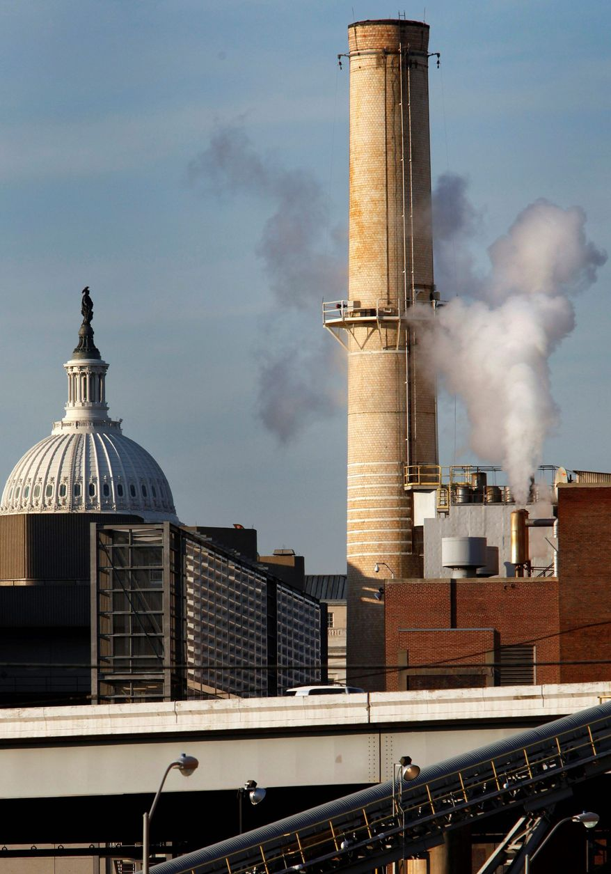 **FILE** The Capitol's coal-burning power plant.