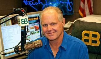 Rush Limbaugh (Associated Press) ** FILE **
