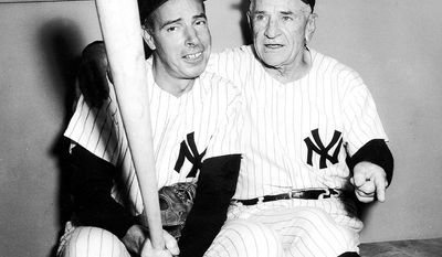 """Casey Stengel (right) won seven World Series titles as manager of the Yankees, but none with the Mets. Bruce Fein compares those losing seasons with the CIA: """"The intelligence community's chronic blunders bring to mind Casey Stengel's exasperation with the New York Mets: 'Can't anybody here play this game?' """""""