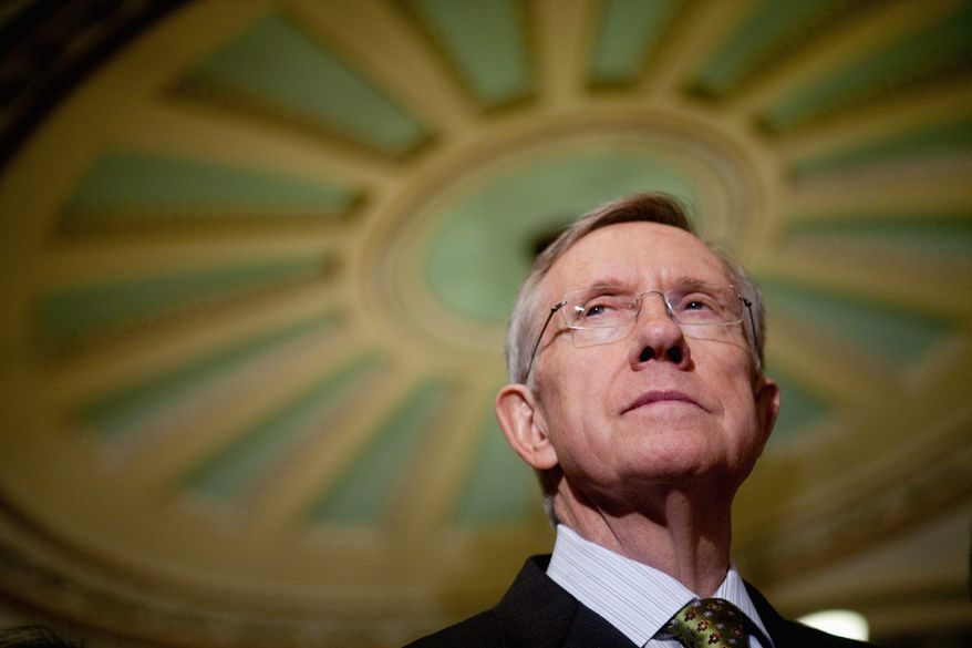 **FILE** Sen. Harry Reid