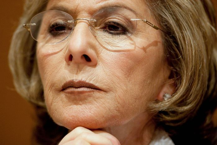 BLOOMBERG NEWS Barbara Boxer