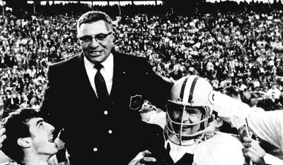 Associated Press Vince Lombardi guided the Packers to five NFL championships and two Super Bowl crowns.