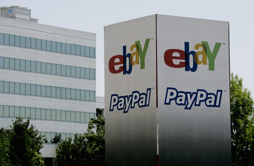 The eBay offices in San Jose, Calif., include the new PayPal, which is taking off strongly and expects continued growth. (Associated Press)
