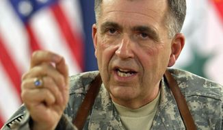 ** FILE ** Gen. Peter W. Chiarelli, who now is retired, was an Army vice chief of staff. (Associated Press)