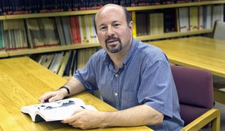 Michael Mann, director of Pennsylvania State University's Earth Systems Science Center (Greg Grieco/Special to The Washington Times)