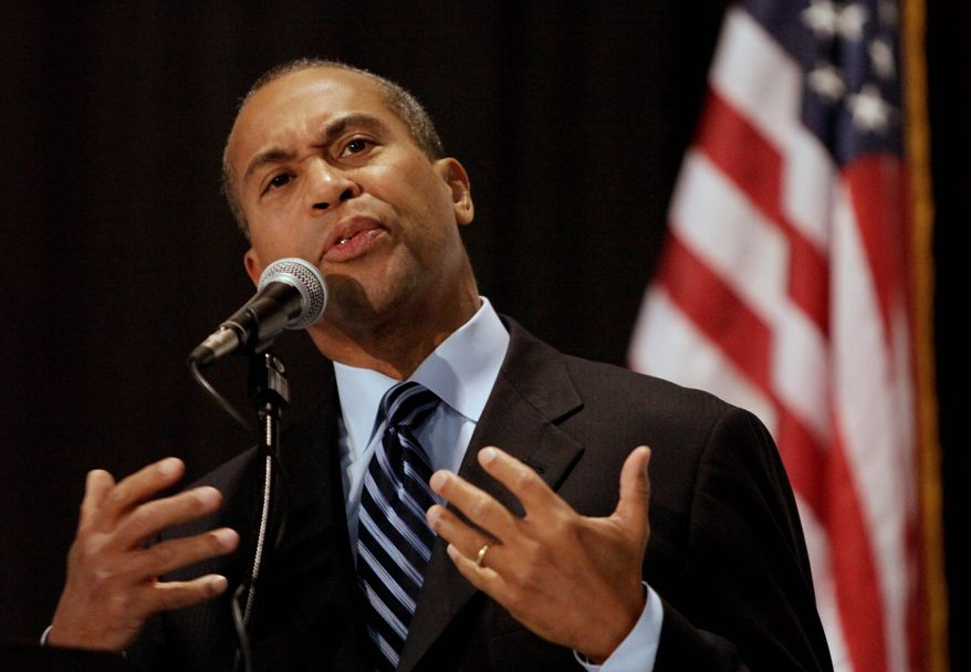 Massachusetts Gov. Deval Patrick recently gave a major boost to the state's stem-cell research program with a $1 billion, 10-year Life Sciences Initiative. (Associated Press)