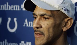 ** FILE ** Indianapolis Colts coach Tony Dungy in 2009. (Associated Press)