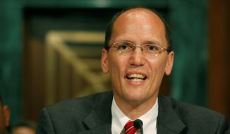Assistant Attorney General Thomas E. Perez (AP Photo/Harry Hamburg)