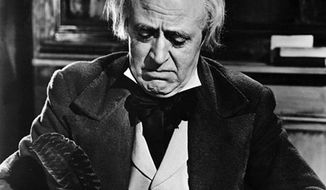 """Alastair Sim's 1951 portrayal of """"Scrooge"""" is the definitive one."""