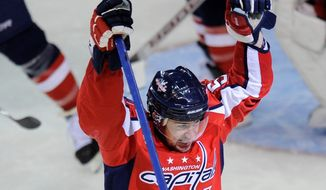 Associated Press The Capitals' Mike Green leads all NHL defensemen with 38 points.