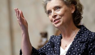Washington Gov. Christine Gregoire, a Democrat, is proposing a tax increase to help close a $2.6 billion state budget deficit. (Associated Press)