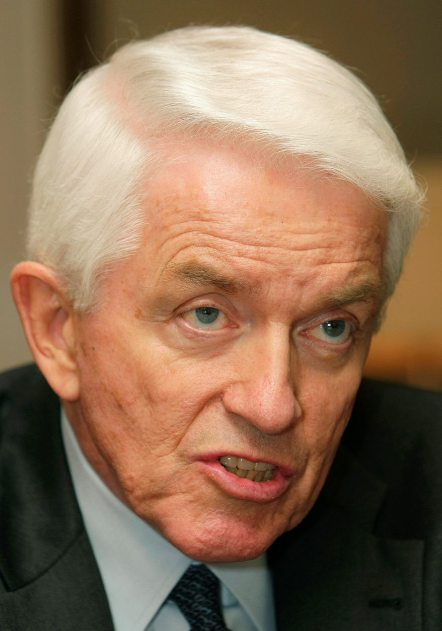 **FILE** Thomas J. Donohue, president and CEO of the U.S. Chamber of Commerce (AP Photo)