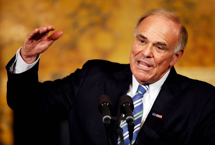Pennsylvania Gov. Ed Rendell speaks during a news conference at the Capitol in Harrisburg, Pa.,