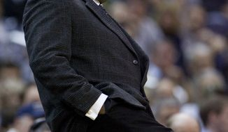 Georgetown was involved in a brawl with the Bayi Rockets in an exhibition game in China on Thursday. Head coach John Thompson III had to pull his team from the court with 10 minutes to play. (Associated Press)