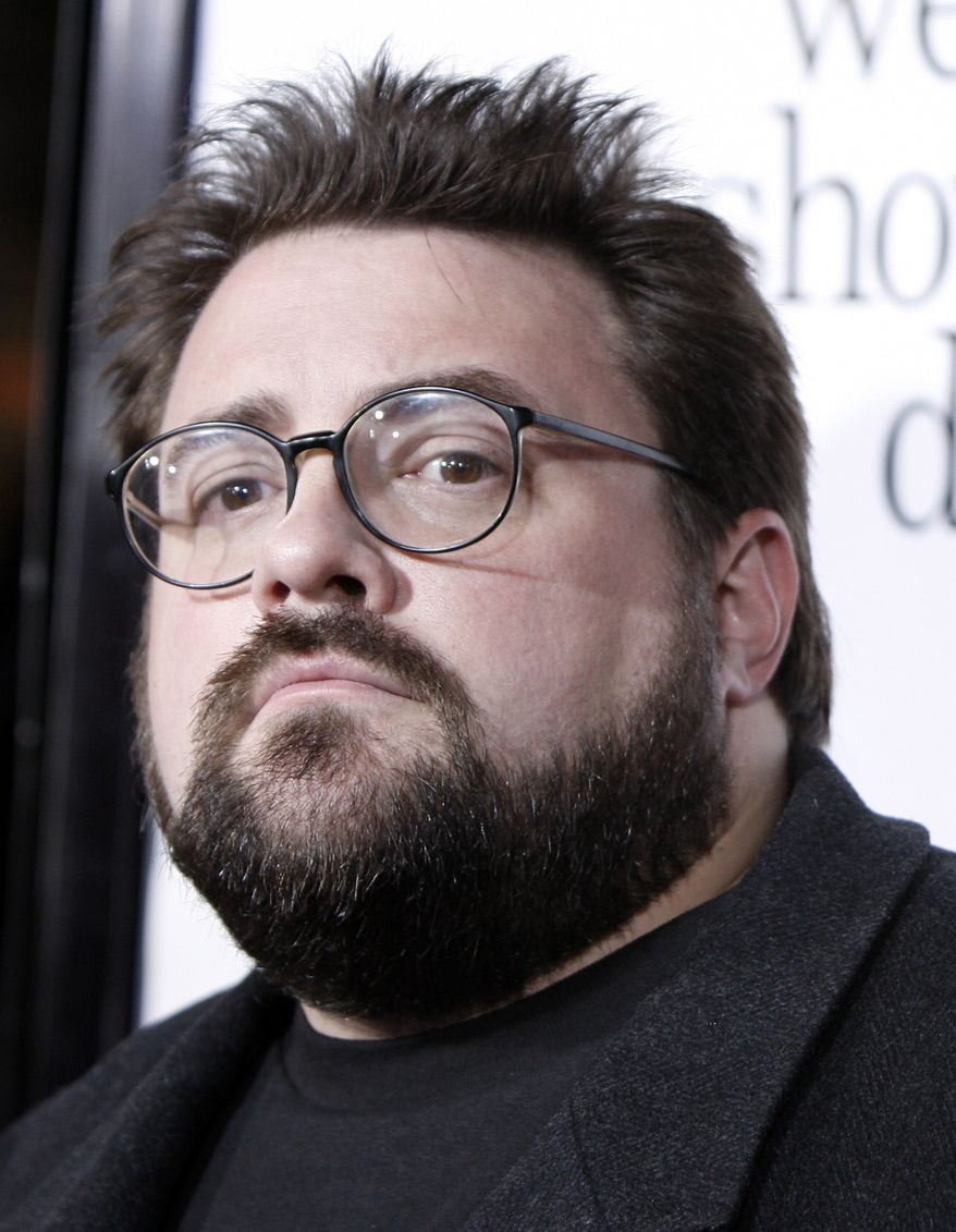 ** FILE ** Director Kevin Smith was removed from Southwest Airlines flight in 2010 because of his weight. (Associated Press)