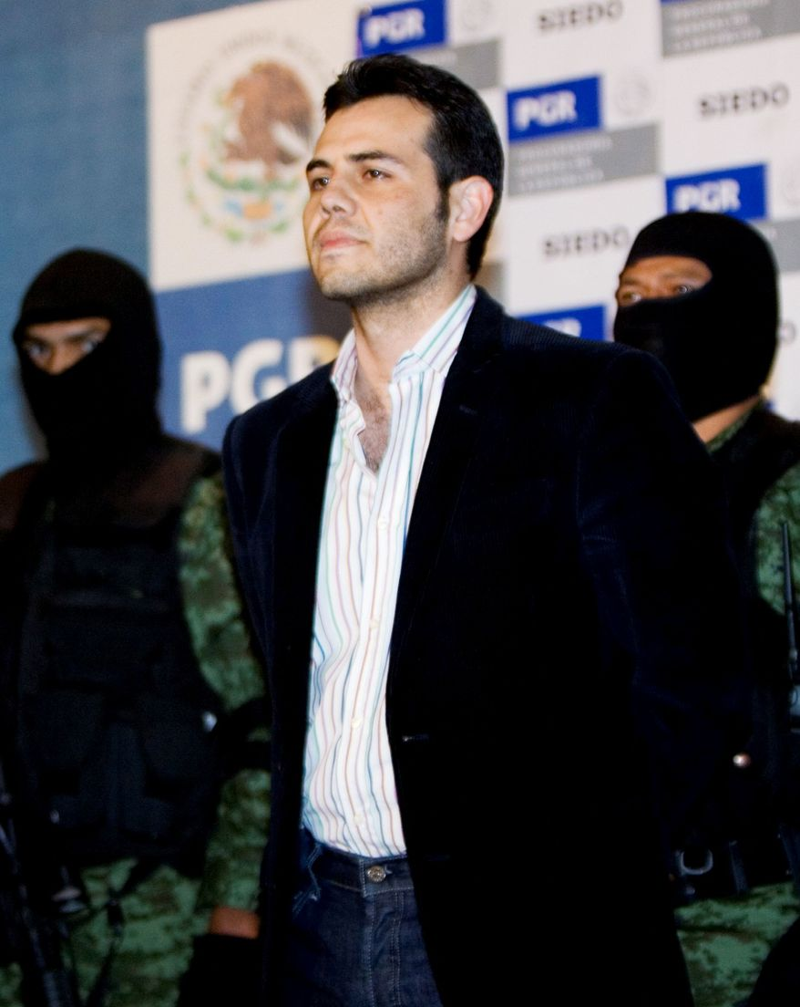 **FILE** Jesus Vicente Zambada-Niebla (Associated Press)