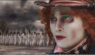 "ASSOCIATED PRESS Johnny Depp plays the Mad Hatter in ""Alice in Wonderland,"" his fourth movie with director Tim Burton (below). ""I certainly trust him implicitly. I would do anything, try anything that he wanted me to,"" Mr. Depp says of the director. Mr. Burton's girlfriend and frequent star, Helen Bonham Carter, says he and Mr. Depp work well together ""because they're kids."""