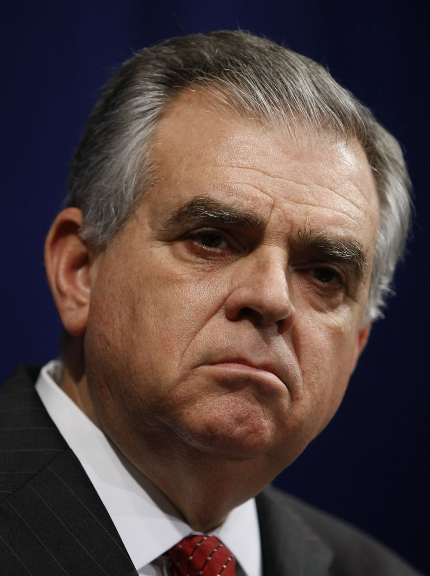 ** FILE ** Transportation Secretary Ray LaHood (AP Photo/Luis M. Alvarez, File)