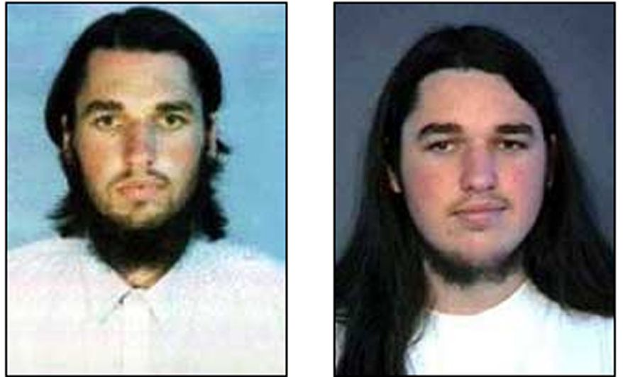 ** FILE ** Adam Gadahn, the American-born al Qaeda spokesman seen in these undated file photos released by the FBI, called on Muslims serving in the U.S. armed forces to emulate the Army major charged with killing 13 people in Fort Hood. (AP Photo/FBI-released photos, File)