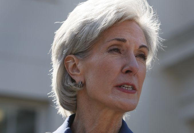 Kathleen Sebelius, secretary of health and human services (