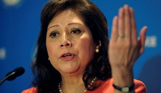 "Associated Press Labor Secretary Hilda L. Solis recently told lawmakers that her department did not want to ""overburden"" the system by asking labor unions for information that ""may not be of much importance or significance."""