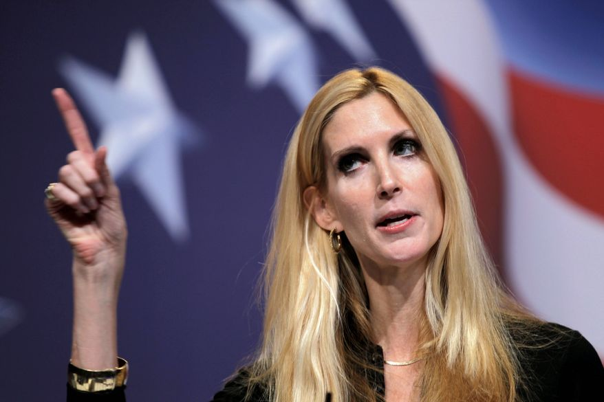 Ann Coulter (Associated Press) **FILE**