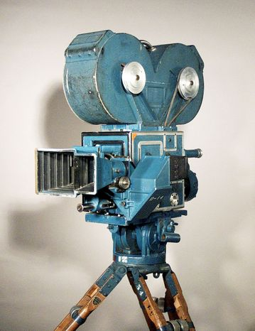 """The Technicolor Camera Model D from 1932 was used to make dazzling color movies during the Golden Age of Hollywood. Technicolor is donating filmmaking artifacts to the George Eastman House to round out the New York museum's trove of original reels of movie classics such as """"Gone With the Wind"""" and """"The Wizard of Oz."""""""