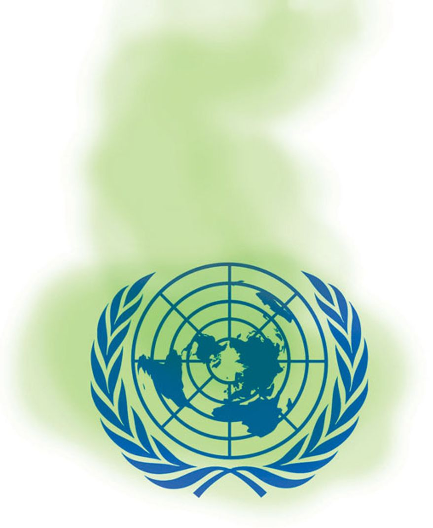 UN Gas by Alexander Hunter for The Washington Times