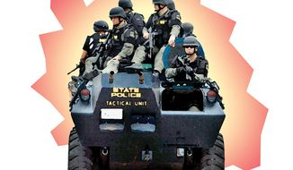Illustration: Swat Team.