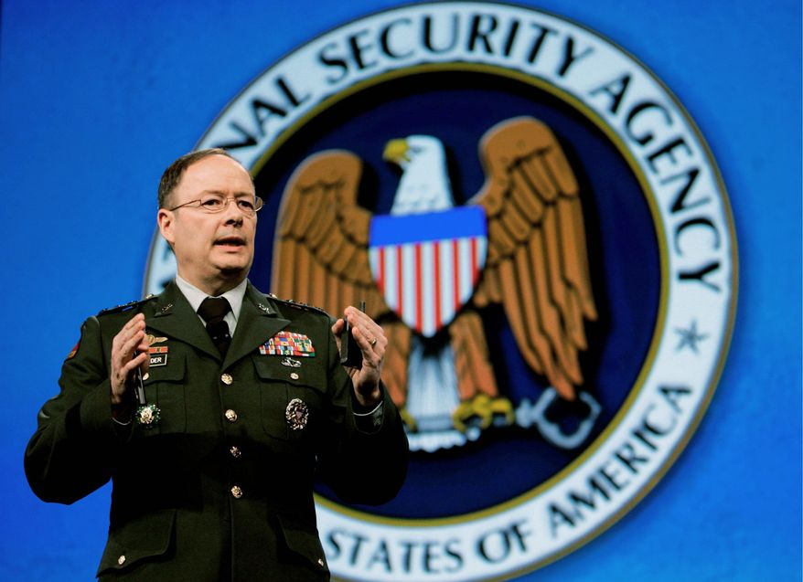 Lt. Gen. Keith Alexander, director of the National Security Agency (Associated Press)