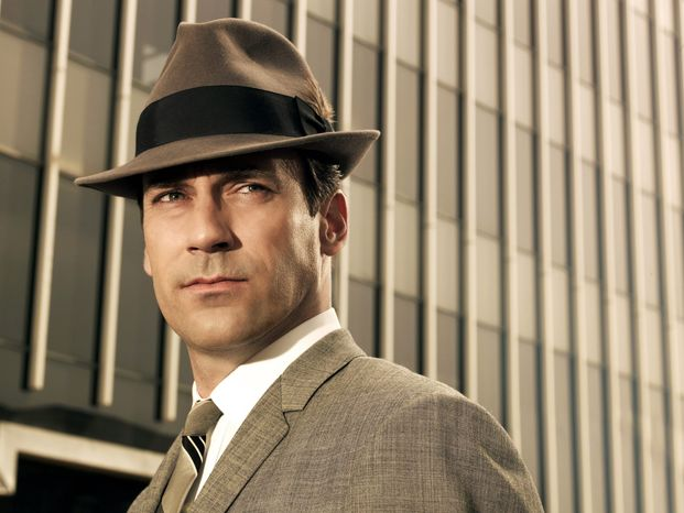 """Jon Hamm starred as advertising executive Don Draper in """"Mad Men,"""" an AMC series which ran from 2007-2015. (AP Photo/AMC) **FILE**"""