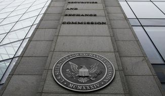 The Securities and Exchange Commission (SEC) headquarters in Washington. (AP Photo/File)