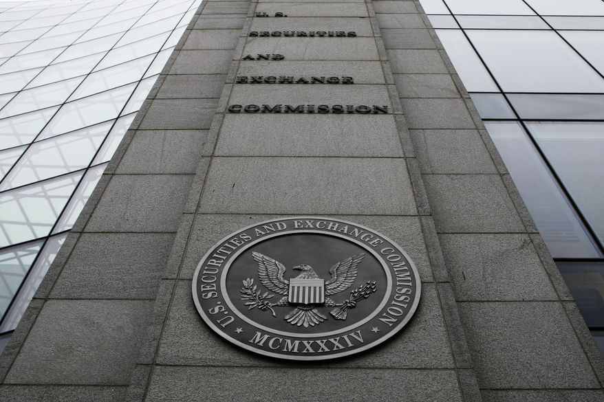 ** FILE ** The Securities and Exchange Commission (SEC) headquarters in Washington. (AP Photo/File)