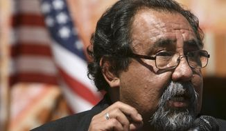 "Rep. Raul Grijalva of Arizona, the ranking Democrat on the House Natural Resources Committee, told National Journal this week that he may have been guilty of overreach even as he defended his probe into the funding sources of seven professors, now known as the ""Grijalva Seven."" (Associated Press)"