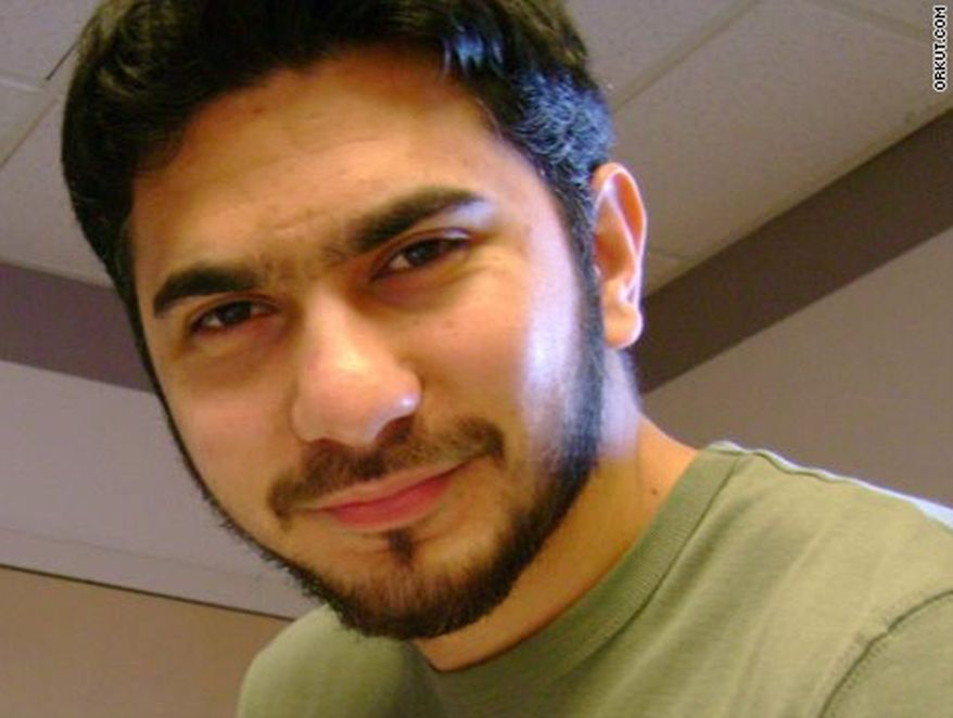 Faisal Shahzad, a U.S. citizen shown in this photo from the social networking site Orkut.com, was arrested Monday, May 3, 2010, at Kennedy Airport in New York on charges that he drove a bomb-laden SUV meant to cause a fireball in Times Square, federal authorities said. (AP Photo/Orkut.com)