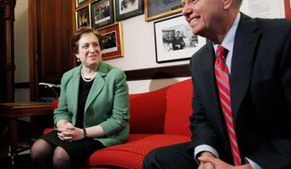 ASSOCIATED PRESS Sen. Lindsey Graham, South Carolina Republican, met with Supreme Court nominee Elena Kagan on Capitol Hill last week. Not since 1972 has a president chosen someone for the high court who hasn't been a judge.