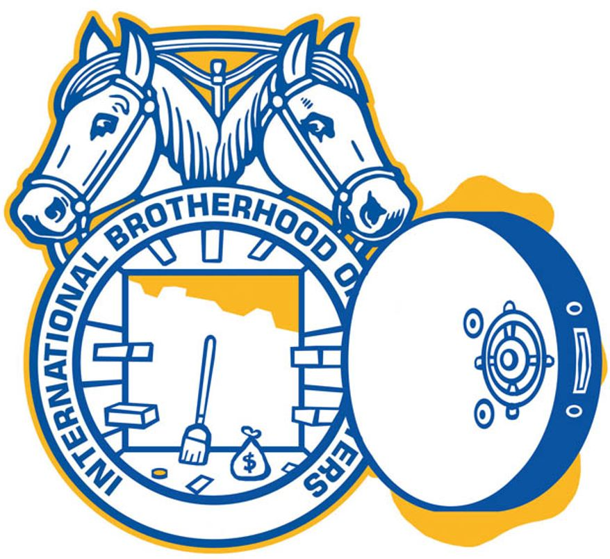 Teamsters (Illustration by Alexander Hunter/The Washington Times)