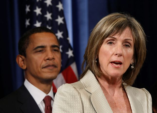 ** FILE ** Carol M. Browner, former administrator of the Environmental Protection Agency, has been President Obama's adviser for energy and climate change. White House officials on Monday confirmed she will leave that post. (AP Photo, File)