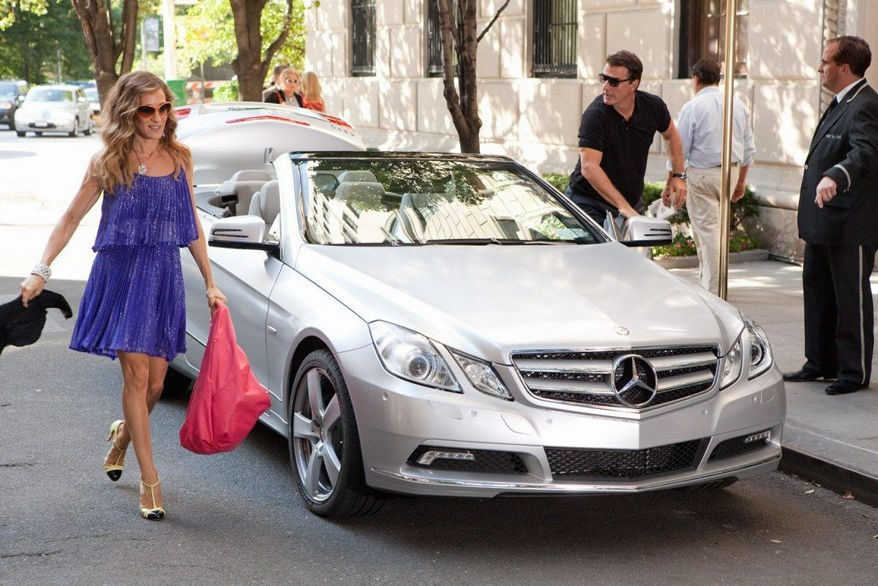 E-Class Cabriolet in 'Sex and The City 2'