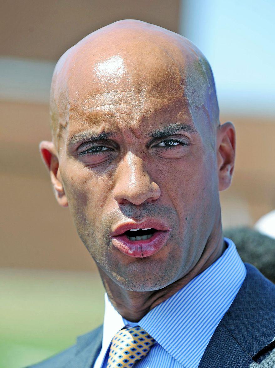 ** FILE ** An officer is under investigation for a possible neglect of Mayor Adrian Fenty's property. Two bikes were stolen from the mayor's residence June 3.