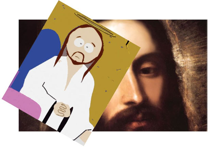 Illustration: The face of Jesus