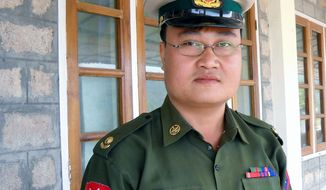"Myanmar defector Sai Thein Win was an army major who reportedly had access to secret Myanmar nuclear facilities, including a nuclear battalion ""charged with building up a nuclear weapons capability."" (Associated Press)"