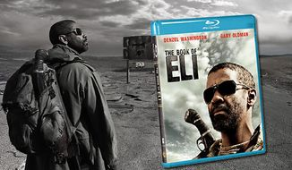 """Warner Home Video """"The Book of Eli"""" arrives on Blu-ray on June 15."""