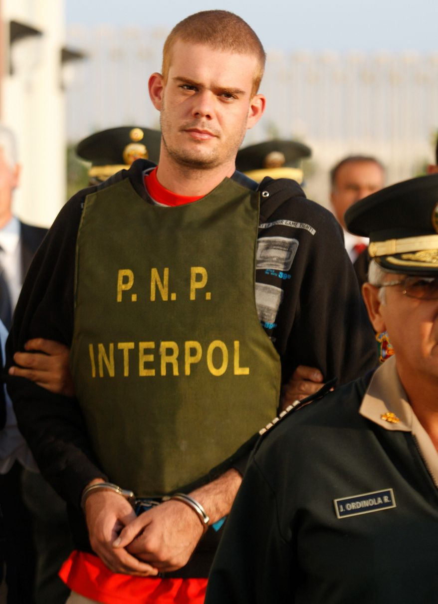 Dutchman Joran van der Sloot has confessed to killing a young woman in his Lima hotel room last week, Peruvian police said. (Associated Press)